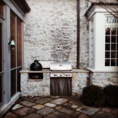 Summer kitchen www.gardenvarietydesign.com