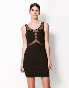 Bershka Ireland - Bershka sheer dress