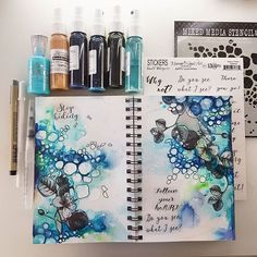 -- Back to my good old art journaling !! How much I missed it ♡ -- ~~ Czas na nowy wpis... Tesknilam ~~ #maremismallart #artjournal #journal #artjournaling #journaling #visualart #visualjournal #mixedmedia #mixedmediart #diaryart #bookart #13arts #painting #onmydesk #inspiration #tonicstudios #instaart