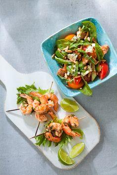 Persimon-kanasalaatti | K-ruoka #uusivuosi #juhlapöytään