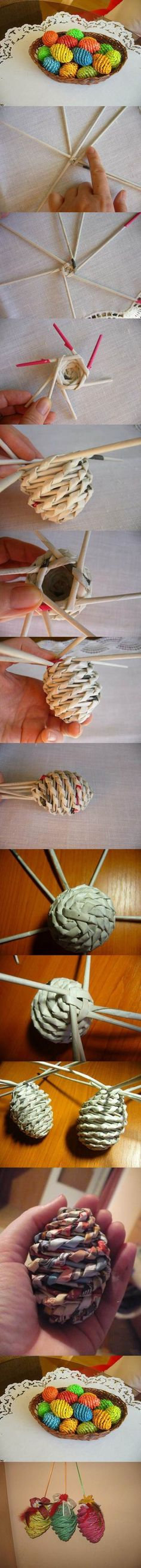 DIY Woven Paper Easter Eggs 2 neat craft for pathfinders and Rangers Easter Crafts, Fun Crafts, Diy And Crafts, Arts And Crafts, Creative Crafts, Spring Crafts, Holiday Crafts, Magazine Crafts, Paper Weaving