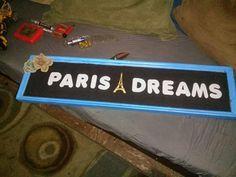 Paris handmade decor