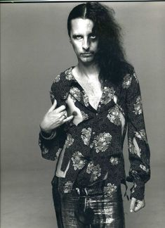 Vincent Furnier -- Alice Cooper to you and me, taken in 1968
