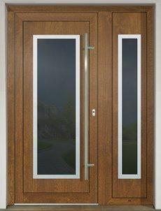 GAVA 701+701/2 Golden Oak vchodové dvere