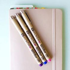 These beautiful Sakura of America pens will add some color to your daily entries ($17 for 6). | 23 Bullet Journal Ideas That Are Borderline Genius