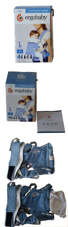 Carriers Slings and Backpacks 100982: New In Box Ergobaby 360 4 Position Ergo Baby Carrier Sophie La Girafe Festival -> BUY IT NOW ONLY: $99 on eBay!
