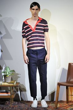 10 Notable Looks From Men's Fashion Week | Orley: Orley made the vintage polo I always wanted to find and never did. (Photo: NowFashion)