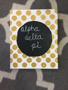 Alpha Delta Pi Canvas