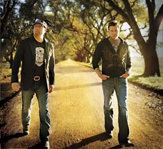 Eddie Montgomery and Troy Gentry:  Better known as good ole country boys Montgomery Gentry