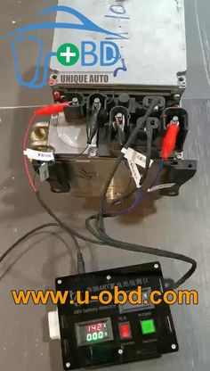 Applied to drive the Mercedes Benz Hybird car 48V battery to perform on bench diagnose and test.