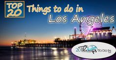 Check out our collection of the top 20 things to do in Los Angeles As the second most populous city of the United States, Los Angeles is filled with both people and spectacular tourists attractions. Nicknamed as the