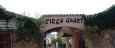 Eingangsbereich vom Sirça Appartement Hotel in Bodrum-Bitez.