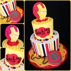 Ironman cake | Flickr - Photo Sharing!