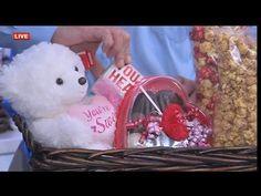 DIY gift basket for Valentine's Day - YouTube