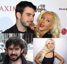 Love is Blind Celebrities (33 of 37): Christina Aguilera and Jordan Bratman