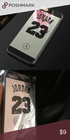 NEW 6/6s Jordan Case Case for iPhone 6 or 6s. Jordan Mirror Case Soft Cover Accessories Phone Cases