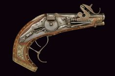 Lock, Stock, and History. 20th century replica of a 17th century wheel-lock pistol, made in Italy.