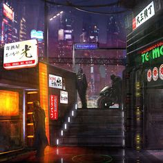 Cyberpunk Atmosphere
