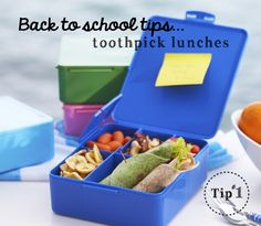 Back to school lunch tips. easy & fun! momsbestnetwork.com