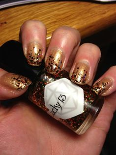 perfect fall mani!   Lucky 13 Bitchy Trampoline and Are you My Mummy?