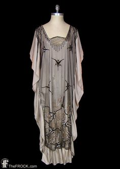 Flapper dress1920s art-deco cocoon gown sequined par TheFrockDotCom
