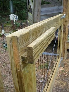 Building an easy fence | DIY gates | homemade gate latch
