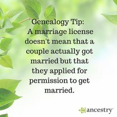When researching family history, it is best not to assume.  #familyhistory #genealogy #ancestry #genealogytip #ancestors