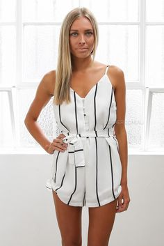 haven playsuit - ivory
