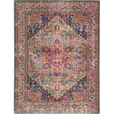 Found it at AllModern - Ashburn Multi-Colored Area Rug