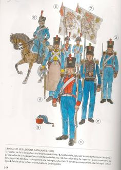 Legions Catalana Catalan Tercios reorganised into 4 Legions. Spain And Portugal, Napoleonic Wars, Military Art, Spanish, History, Pictures, Soldiers, Weapons, Empire