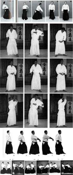 Three major teachers - Kanshu Sunadomari, Michio Hikitsuchi, Koichi Tohei - showing Ame-no-torifune/Funakogi/Rowing exercise. See any differences/similarities? There's more from Sunadomari Sensei in this interview on the Aikido Sangenkai blog: http://www.aikidosangenkai.org/blog/interview-aikido-shihan-kanshu-sunadomari-part-1/