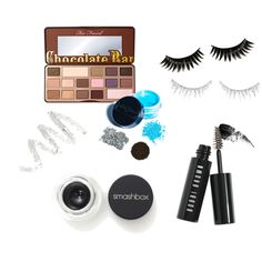 All About Eyes by diah-fara-dilla on Polyvore featuring beauty, Too Faced Cosmetics, Smashbox, Hourglass Cosmetics, Manic Panic, Bobbi Brown Cosmetics, Cynthia Rowley, Illamasqua, shu uemura and Boohoo