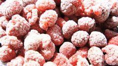 Frozen Raspberry are Tasty