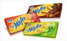 Pilar Wafer biscuit design idea 25 Crunchy Biscuits & Cookies Packaging Design Ideas