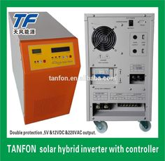 1kw 2kw 3kw 5kw 10kw DC to AC solar home use pure sine wave solar hybrid power inverter with MPPT solar controller
