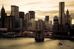 Gorgeous #skyline of #newyork.  #nyc