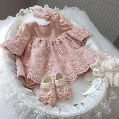 Mevlit Elbiseleri - 2016 Mevlüt Elbisesi Modelleri - Yenidoğan Kız Bebek Elbiseleri8