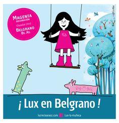 Lux la Muñeca. #ilustracion #illustration #pink #muñeca #deco #kids Facebook: lux la muñeca Ventas : tienda.citarte.net Facebook, Deco, Comics, Illustration, Pink, Movie Posters, Art, Store, Illustrations