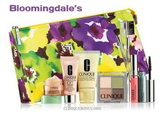 Yours with $40 Clinique purchase at Bloomingdales (instore offer may vary) http://cliniquebonus.org/clinique-bonus-time/