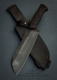 Custom Handmade Knives - Tomas Rucker