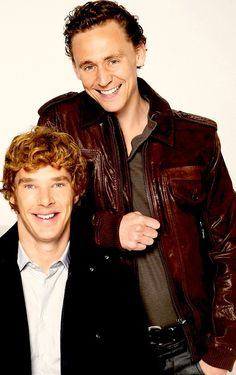 """Tom and Benedict…. Great together in """"War Horse""""!"""