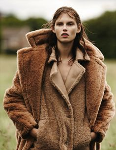 Why wear one coat when you can double up? Emma tempest for amica august 2013