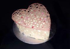 Valentine heart chocolate covered cake Valentine Heart, Valentines, Cupcake Cakes, Cupcakes, Cake Cover, Chocolate Covered, Desserts, Food, Valantine Day