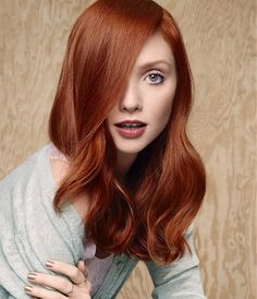 Long Red Hairstyle | Camilla Albane More