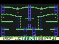 Jumpman (Commodore 64) - Great memories playing this as a kid.