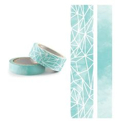 We R Memory Keepers ARCTIC Watercolor Washi Tape 426646