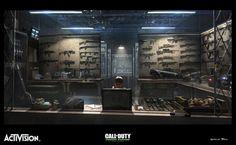 Call Of Duty Modern Warfare Remaster F.N.G., Gabriel Blain on ArtStation at https://www.artstation.com/artwork/Ren2W