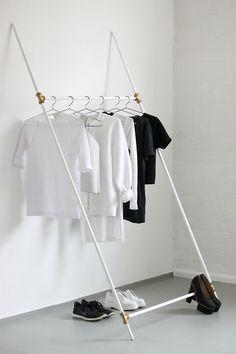 #room #closet #clothes #black #white #tee #shoes