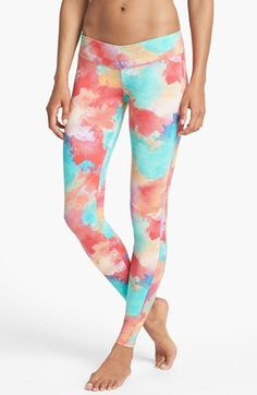 workout wear - O'Neill Surf Leggings (UPF 50) available at #Nordstrom