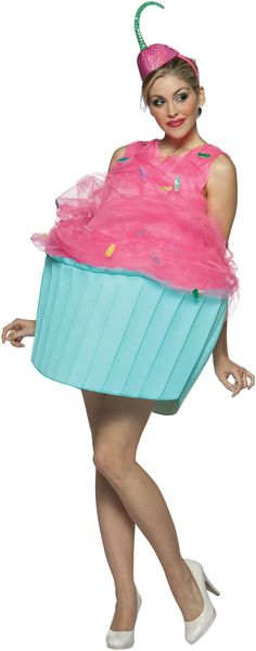 This would be a super adorable costume for anyone who was pregnant on Halloween...or it would be a cute costume PERIOD (: